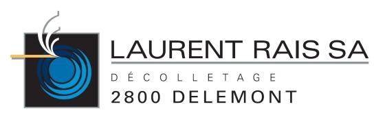 Décolletage Laurent Rais SA Delémont Jura Logo